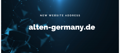 Our website with new address