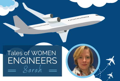 Tales of Women: Sarah, Manufacturing Process Engineer für Airbus